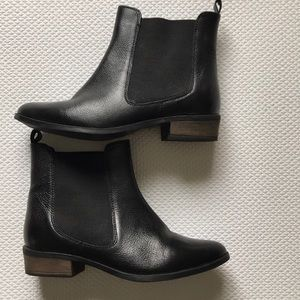 ASOS   Leather Ankle Booties